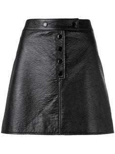 мини-юбка на кнопках Courrèges