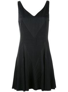 плиссированное платье Moschino Vintage