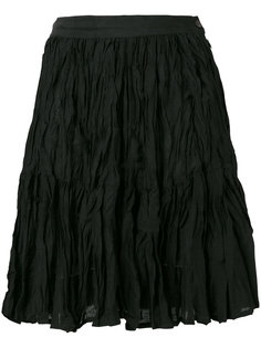 юбка с жатым эффектом Kenzo Vintage