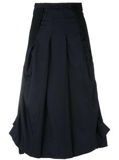 многослойная асимметричная юбка Comme Des Garçons Vintage