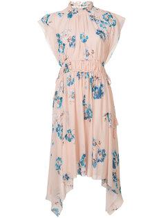асимметричное платье с цветочным узором Ulla Johnson