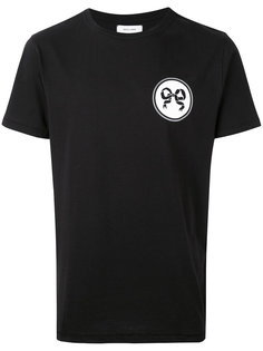 футболка с принтом на спине Soulland