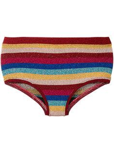 полосатые шорты от купальника Laneus