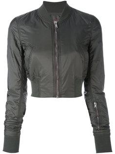 приталенная укороченная куртка  Rick Owens DRKSHDW