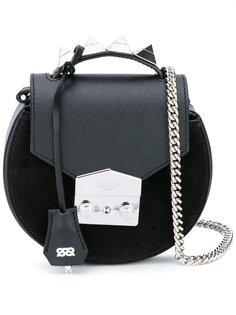 круглая сумка через плечо Salar