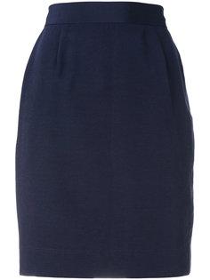 юбка с завышенной талией Moschino Vintage