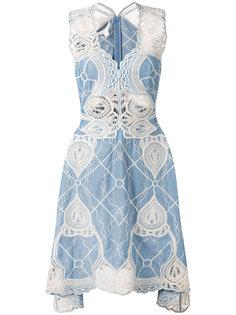 асимметричное платье без рукавов  Jonathan Simkhai