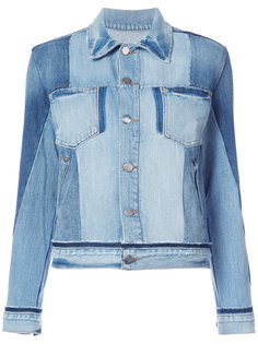 chest pockets denim jacket Frame Denim