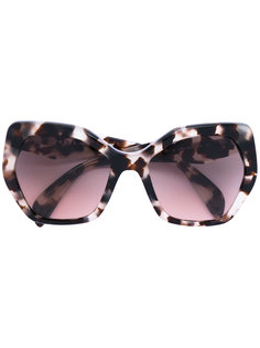 Triangle sunglasses Prada Eyewear