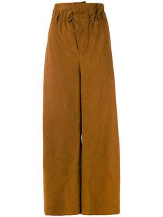 мешковатые широкие брюки Stella McCartney