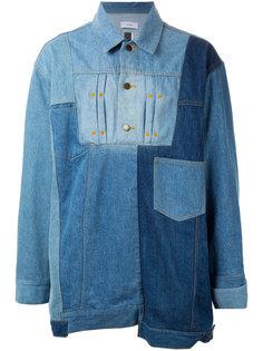 лоскутная джинсовая рубашка Facetasm