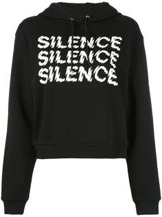 укороченное худи Silence McQ Alexander McQueen