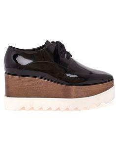 шнурованные туфли на платформе Stella McCartney