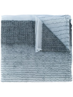 шарф с мелким принтом Giorgio Armani