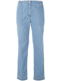 брюки с эластичным поясом Kenzo