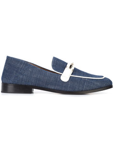 джинсовые лоферы Melanie Newbark