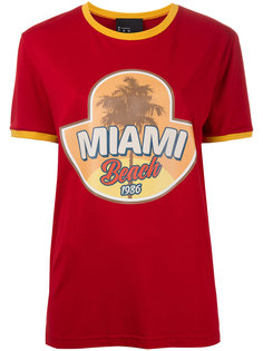 Miami Beach print T-shirt N Duo