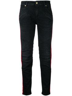 side stripe skinny jeans  Pierre Balmain