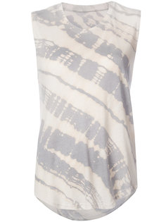 sleeveless tie-dye top Raquel Allegra