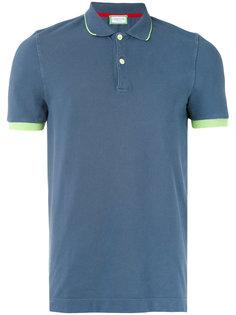 футболка-поло с контрастной окантовкой Capricode