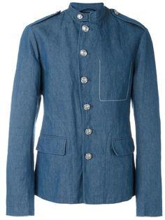 полотняная куртка в стиле милитари  3.1 Phillip Lim