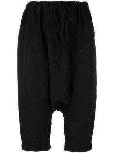 укороченные брюки с заниженной проймой Forme Dexpression
