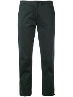 slim-fit cropped trousers Woolrich