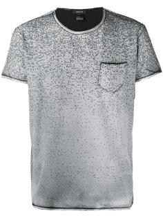 футболка с заклепками и нагрудным карманом Avant Toi