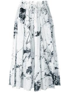 юбка длины миди с рисунком Forme Dexpression
