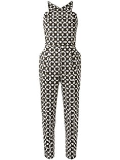 all-over print jumpsuit Andrea Marques