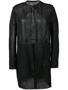 открытый кардиган-пальто Salvatore Santoro