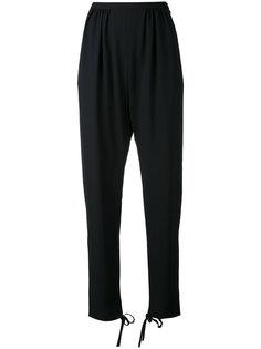 брюки с заниженным шаговым швом Chloé