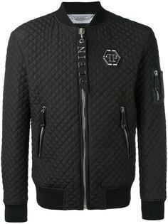 стеганая куртка-бомбер Philipp Plein