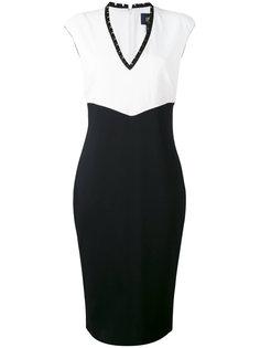 платье-карандаш с плиссировкой Cavalli Class