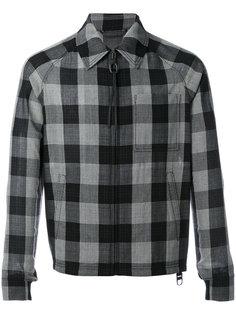 клетчатая куртка Lanvin
