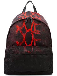 рюкзак со змеиным принтом Givenchy