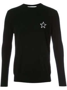 джемпер с элементом звезды Givenchy