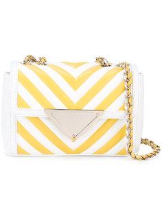 полосатая сумка на цепочке Sara Battaglia