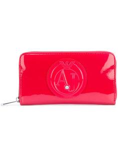 кошелек с тиснением логотипа Armani Jeans