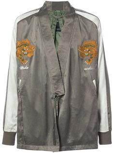 куртка с вышитым тигром Maharishi