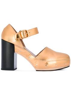 туфли с заклепками Marni