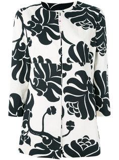 пиджак с цветочным принтом Jucca