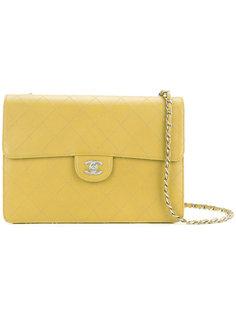 стеганая сумка через плечо на одной цепочке Chanel Vintage