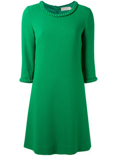 plaited detail tunic dress Goat