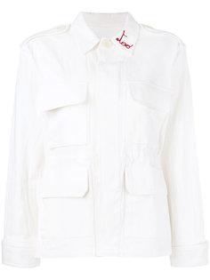 куртка с вышивкой Too Obsessed Ava Adore