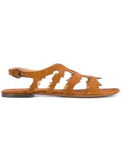 сандалии с резным узором Sartore