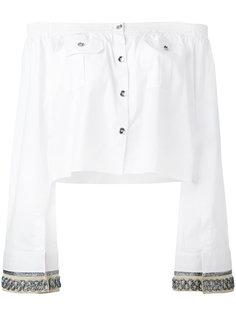 рубашка с открытыми плечами Aviù