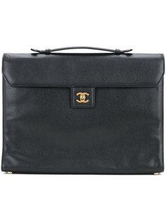 портфель с логотипом СС Chanel Vintage