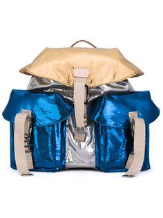 рюкзак с отделкой металлик Nº21