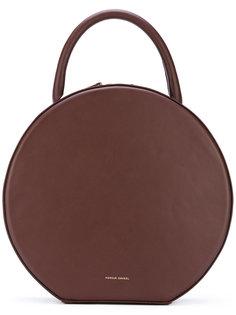 округлая сумка с короткой ручкой Mansur Gavriel